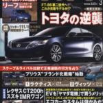2月10日 「ホリデーオート」3月号掲載 太田哲也×ホリデーオートドライビングスクール