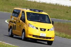 参加者の同伴者、ご家族向けにサーキットサファリを予定。エルグランドに加えてニューヨークタクシー仕様のNV200も!
