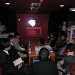 太田哲也校長から学生へ刺激のシャワー体験
